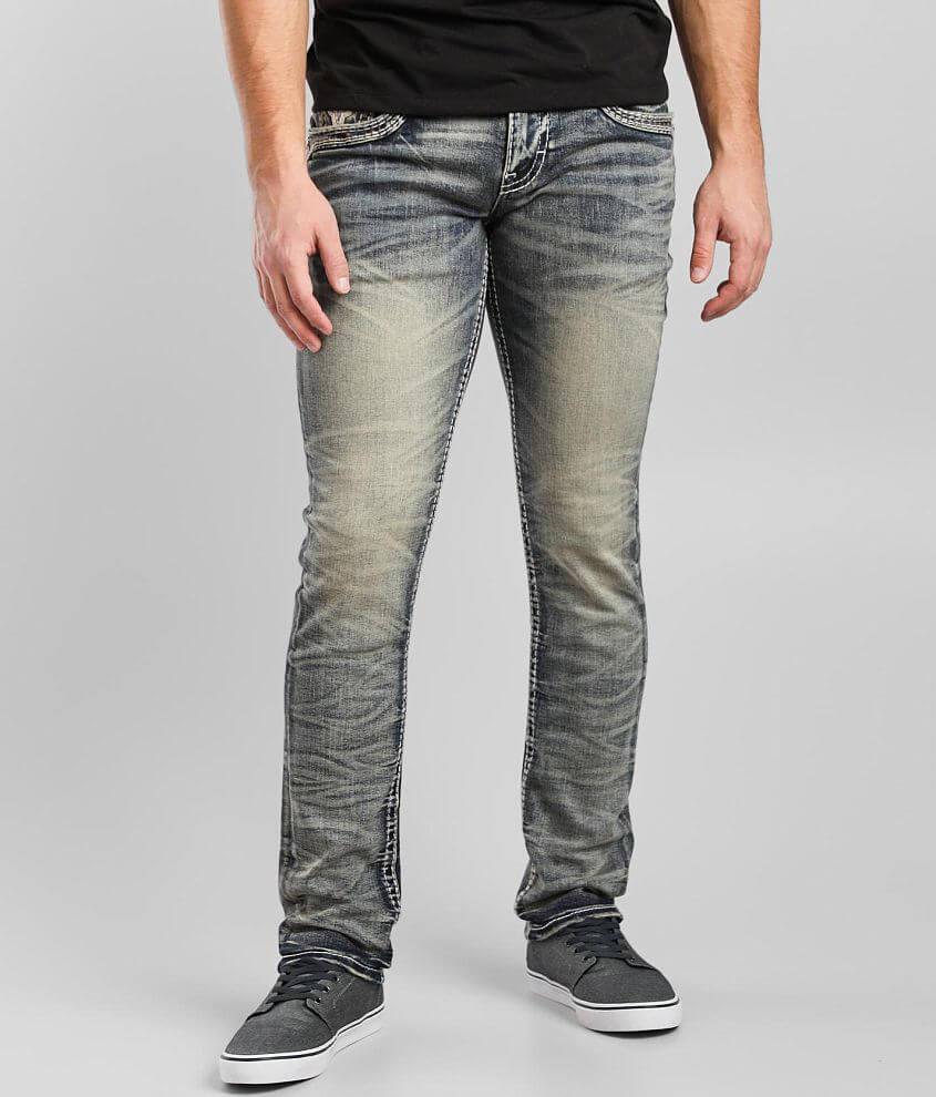 Rock Revival Kastor Alternative Straight Jean front view