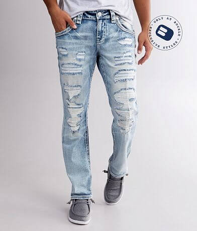 Rock Revival Baldwen Straight Stretch Jean