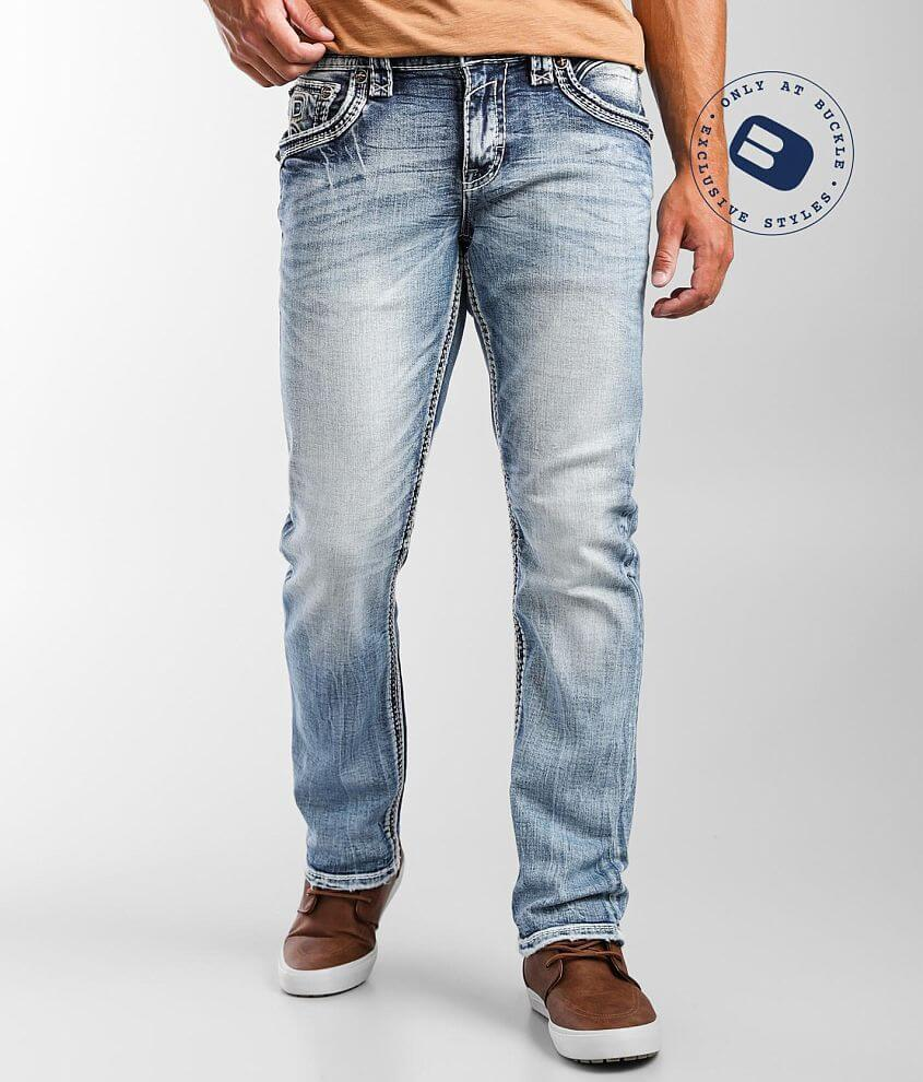 Rock Revival Jackee Straight Stretch Jean front view