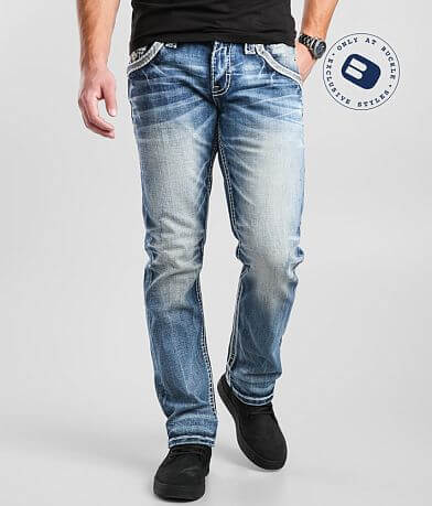Rock Revival Chavo Straight Stretch Jean