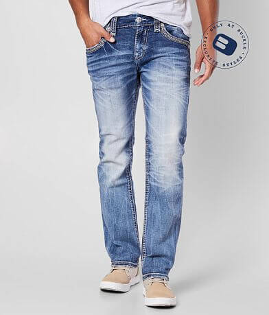 Rock Revival Brayen Straight Stretch Jean