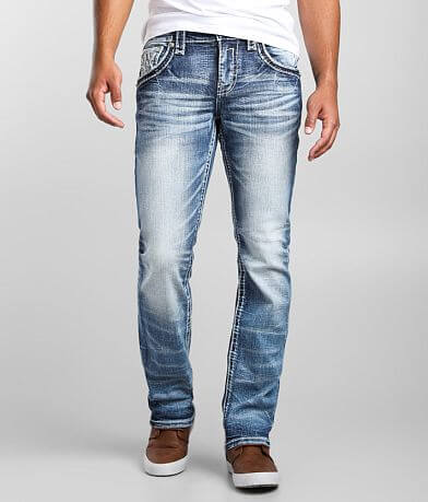 Rock Revival Leeroy Straight Stretch Jean