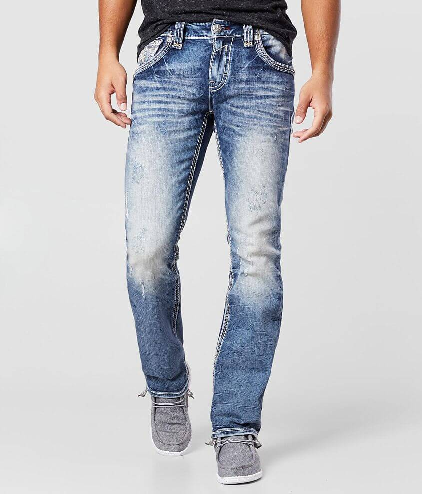 Rock Revival Pauly Straight Stretch Jean front view
