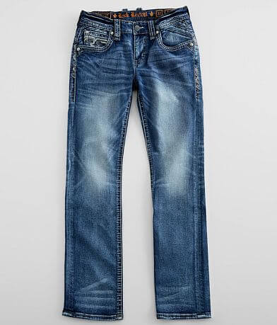 Rock Revival Sheen Straight Stretch Jean