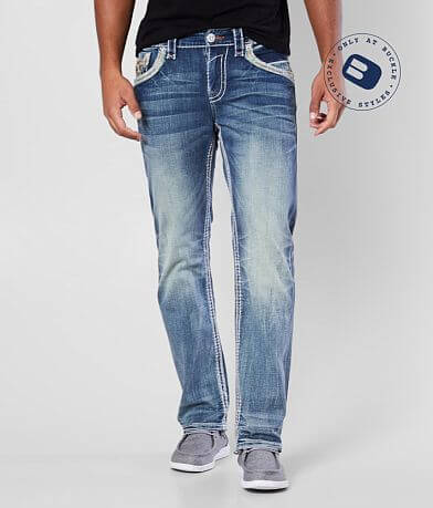 Rock Revival Berko Straight Stretch Jean