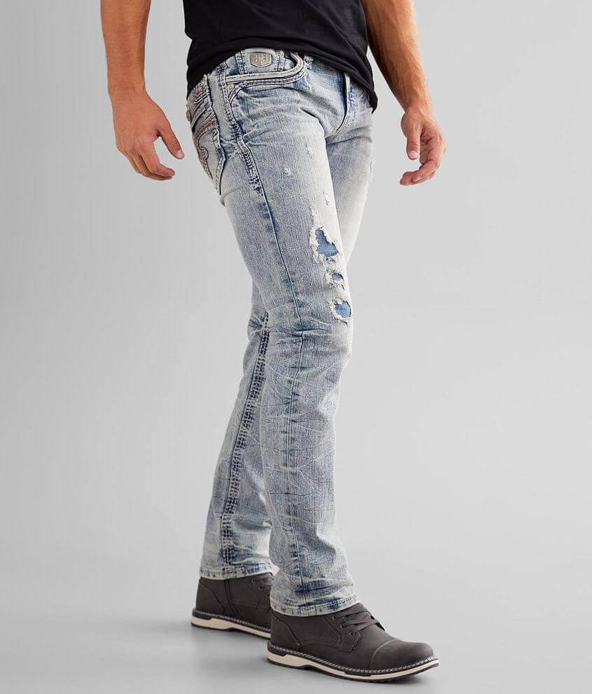 Regular fit jean Comfort stretch fabric Straight from knee to hem Regular rise, 15\\\
