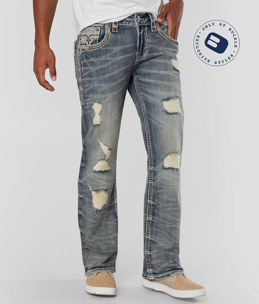 Rock Revival Torin Boot Stretch Jean front view