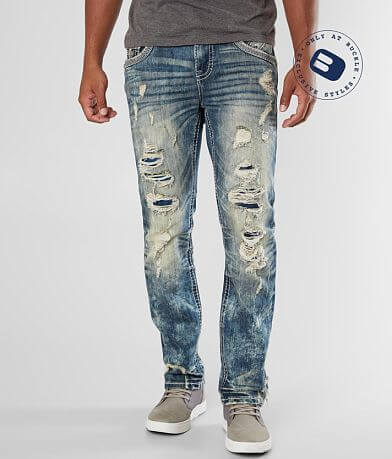 Rock Revival Dewkist Straight Stretch Jean