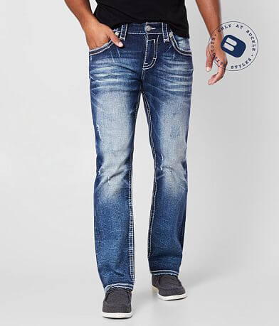 Rock Revival Boulder Straight Stretch Jean
