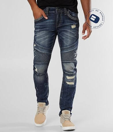 Rock Revival Chace Biker Stretch Jean