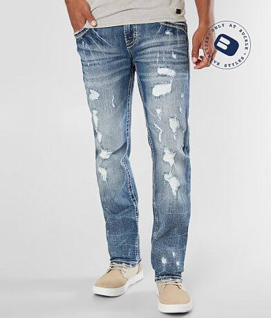 9267b3cf8a8012 Rock Revival Neruda Straight Stretch Jean