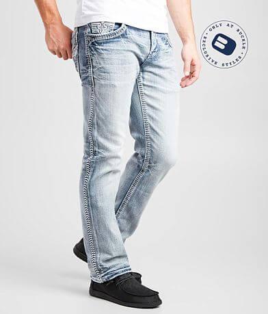 Men S Rock Revival Jeans Buckle