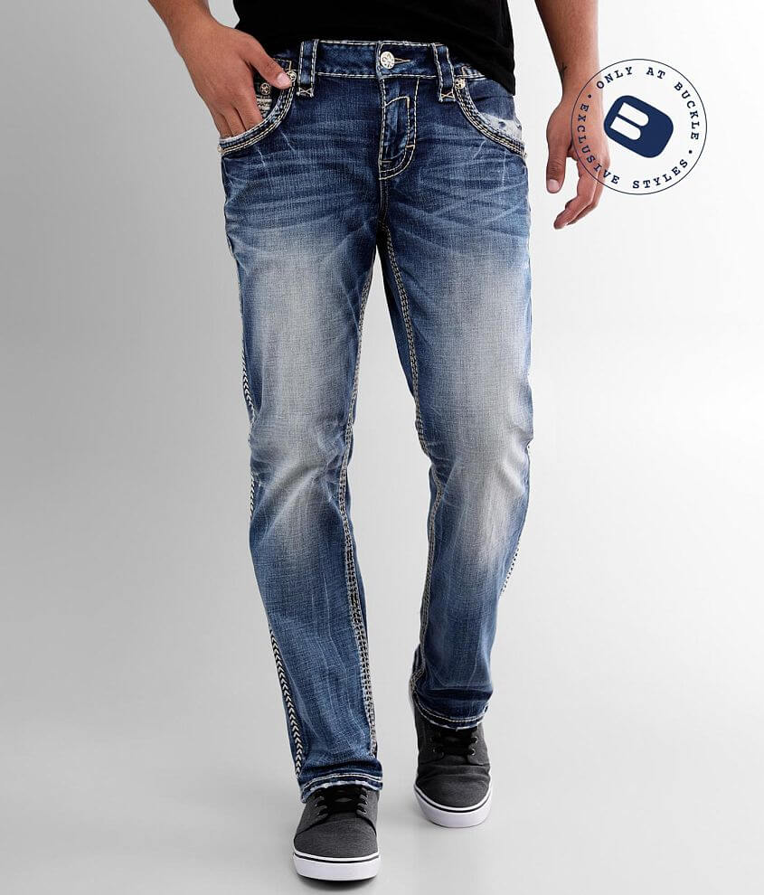 Rock Revival Crestmont Straight Stretch Jean front view
