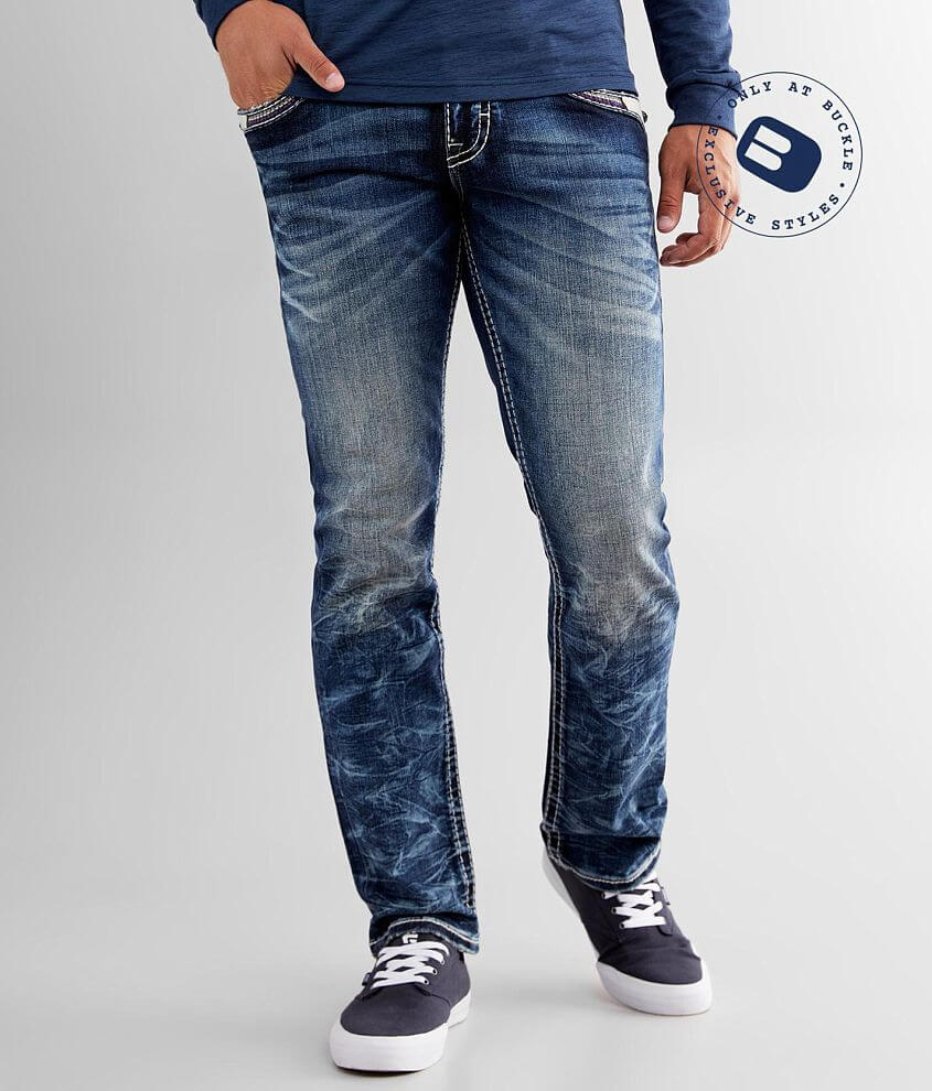 Rock Revival Moseley Straight Stretch Jean front view