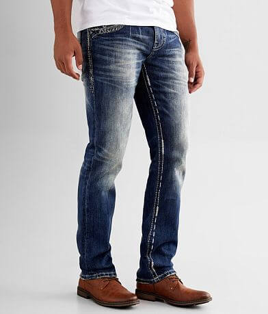 Rock Revival Drayton Straight Stretch Jean