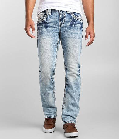 Rock Revival Nile Blue Straight Stretch Jean