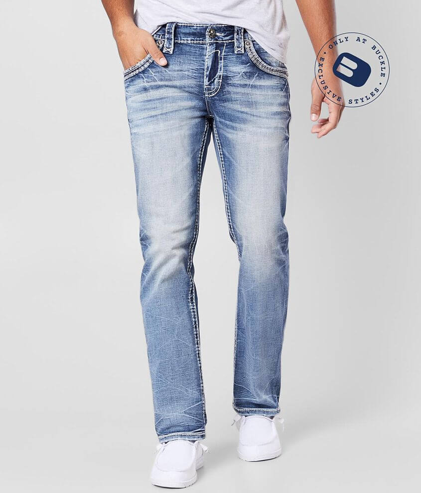 Rock Revival Breen Straight Stretch Jean front view