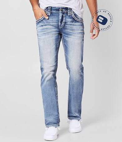 Rock Revival Breen Straight Stretch Jean
