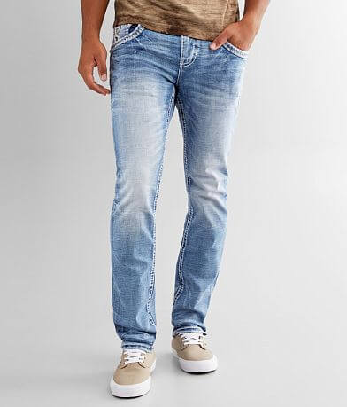 Rock Revival Toffee Alternative Straight Jean