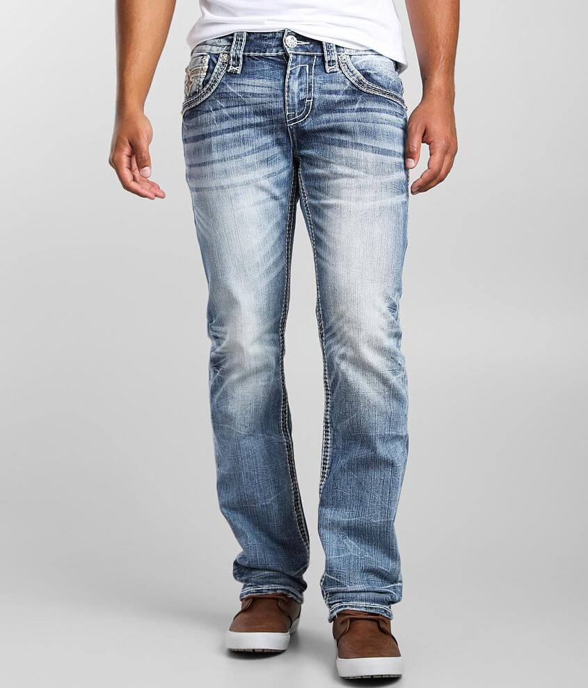 Rock Revival Urban Chic Straight Stretch Jean front view