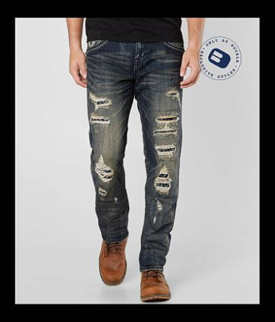 Rock Revival Salim Relaxed Taper Stretch Jean