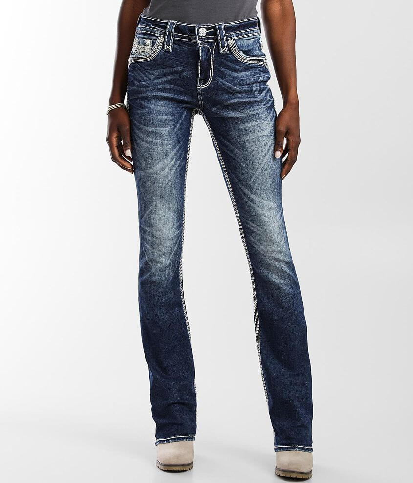 Rock Revival Kiley Mid-Rise Boot Stretch Jean front view