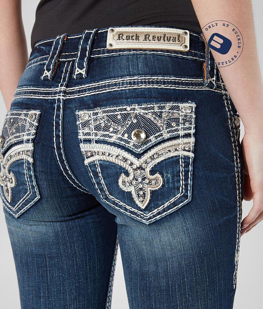 a0986947c1f Rock Revival Oliana Boot Stretch Jean - Women s Jeans in Oliana B206 ...