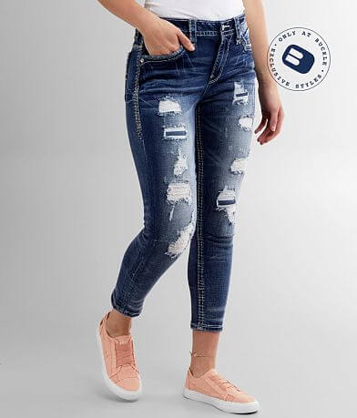 Rock Revival Arjean Easy Ankle Skinny Stretch Jean