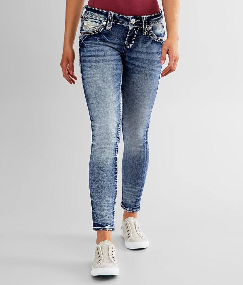 Rock Revival Janli Ankle Skinny Stretch Jean front view