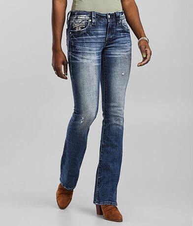 Rock Revival Greer Low Rise Boot Stretch Jean