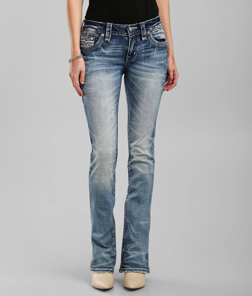 Rock Revival Dubarry Boot Stretch Jean front view