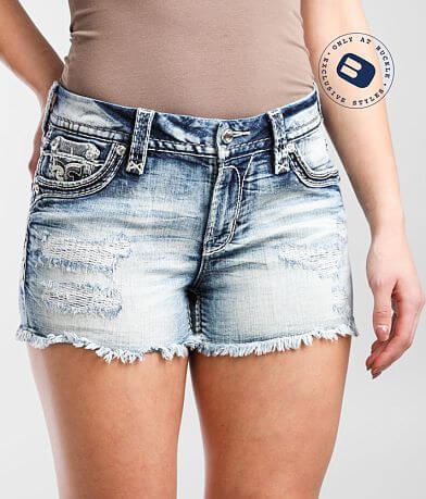 Rock Revival Dubarry Mid-Rise Easy Stretch Short