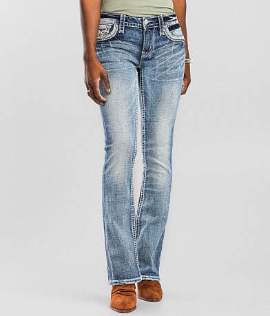 Rock Revival Arona Low Rise Boot Stretch Jean