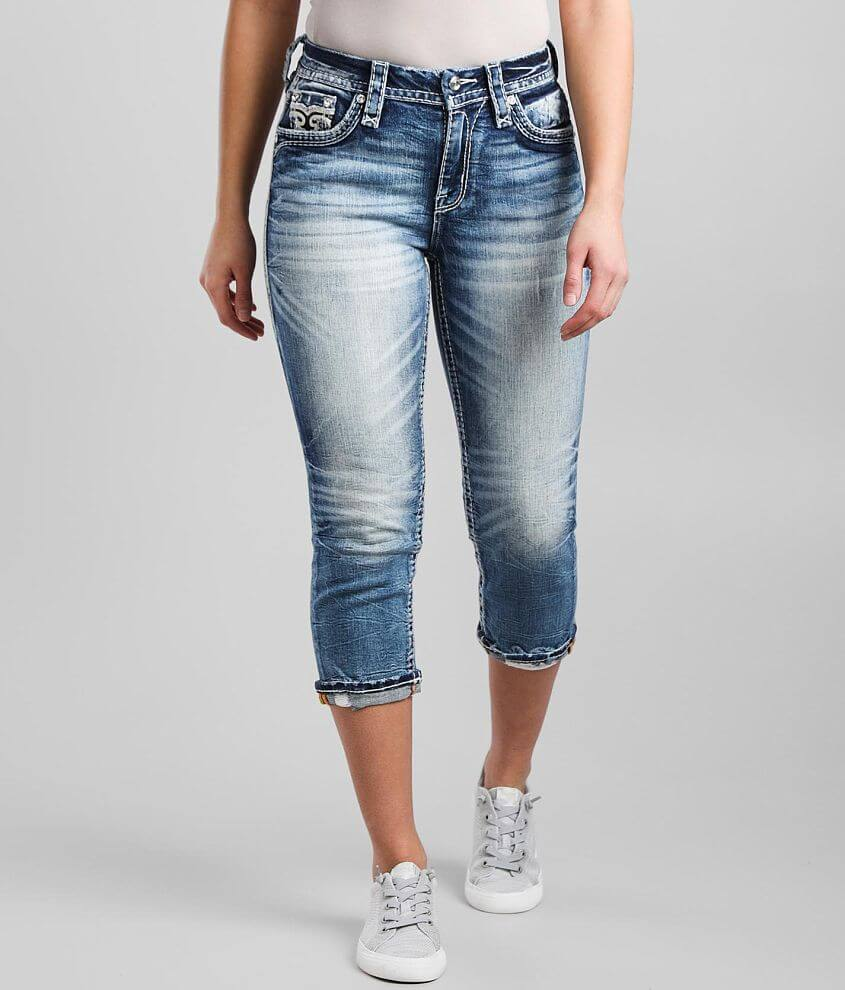 Rock Revival Arona Easy Stretch Cropped Jean front view