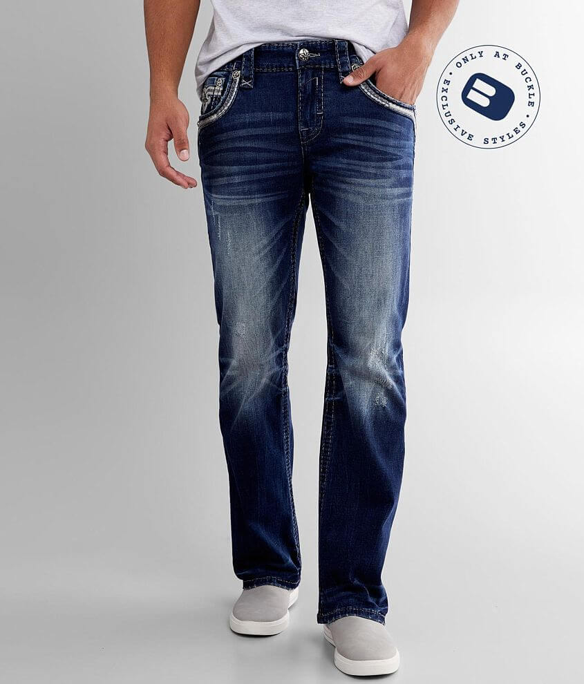 Rock Revival Charlot Slim Boot Stretch Jean front view