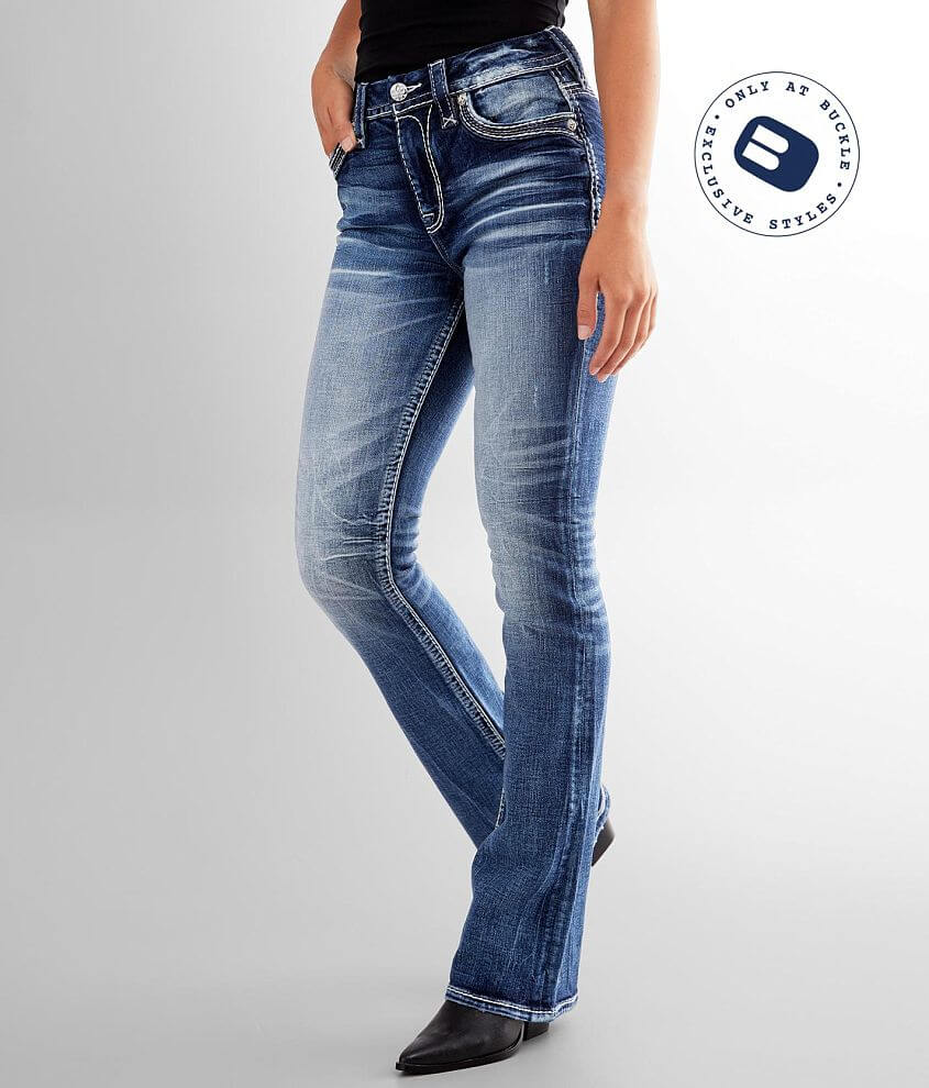 Rock Revival Ash Rose Easy Boot Stretch Jean front view