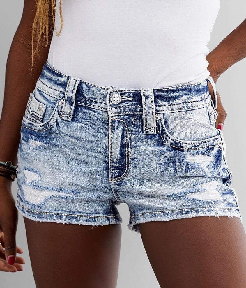 Rock Revival Stellar Mid-Rise Stretch Short front view