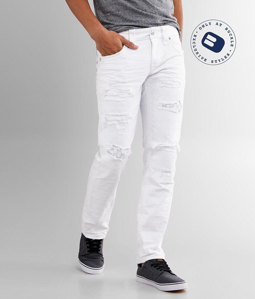 Rock Revival Prewitt Slim Straight Stretch Jean front view
