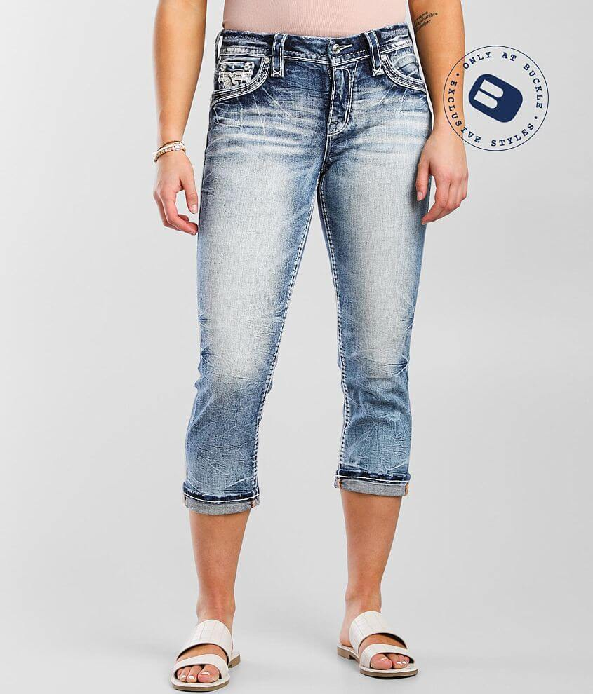 Rock Revival Katydid Easy Stretch Cropped Jean front view