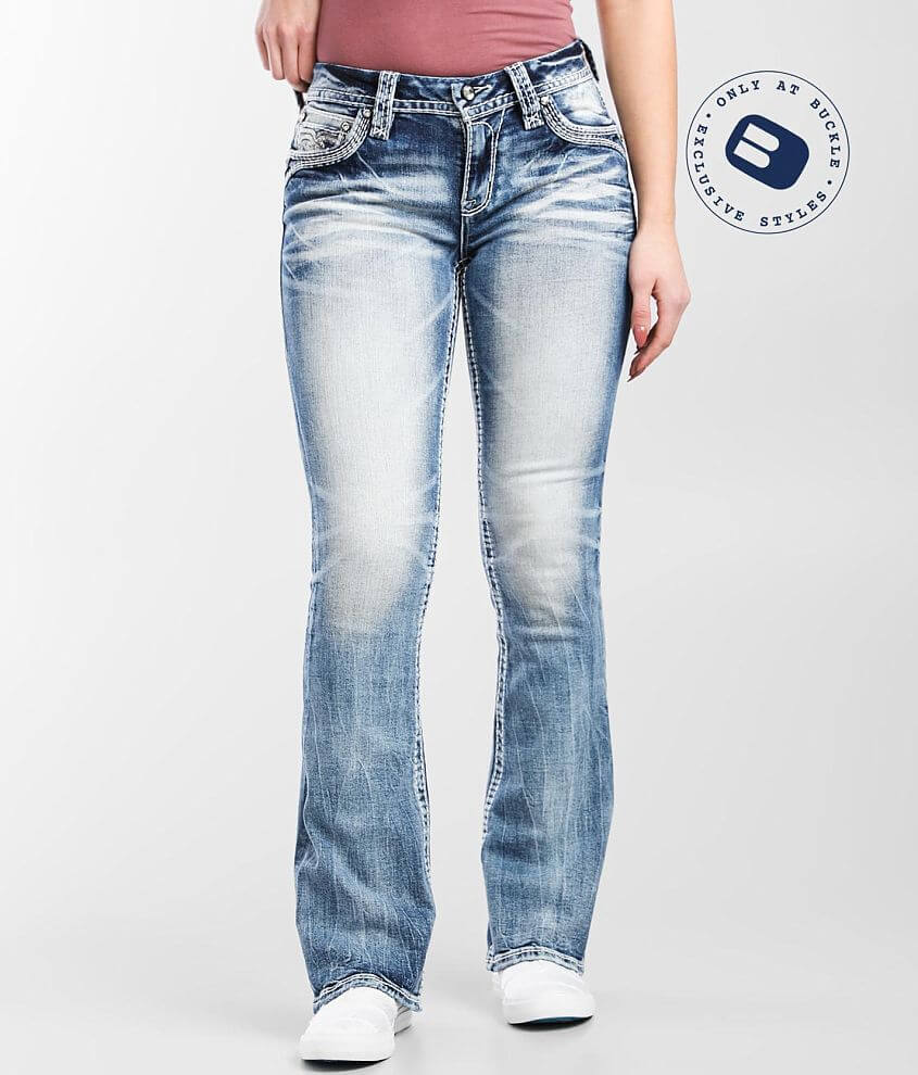 Rock Revival Faience Easy Boot Stretch Jean front view