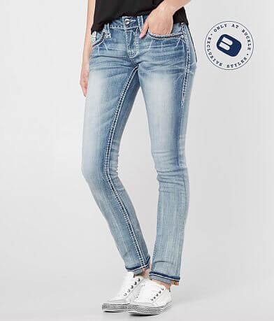 Rock Revival Jena Straight Stretch Jean