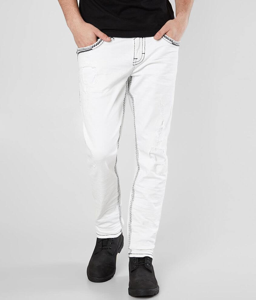 Slim fit jean Comfort stretch fabric Tapered from knee to hem Low rise, 13\\\