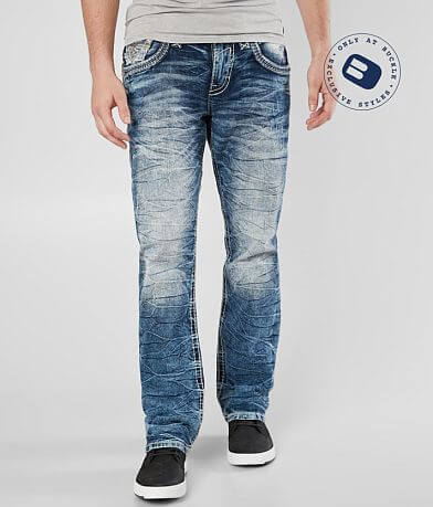 Rock Revival Manny Relaxed Taper Stretch Jean