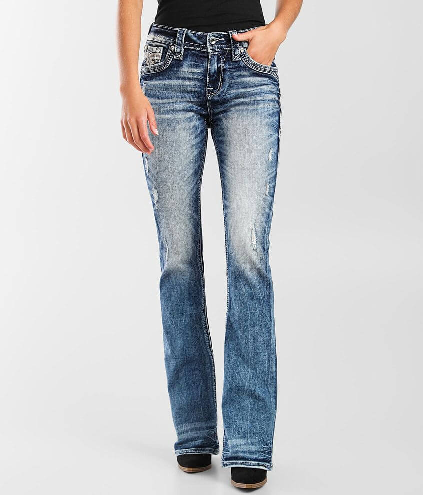 Rock Revival Tierre Mid-Rise Boot Stretch Jean front view