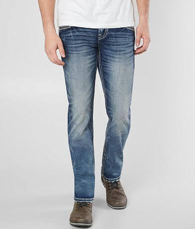 Rock Revival Bard Slim Straight Stretch Jean