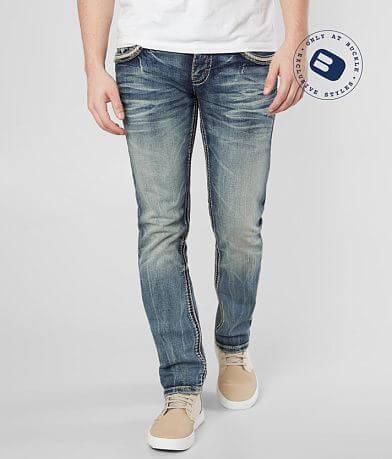 44f62dbc Rock Revival Jerret Slim Straight Stretch Jean