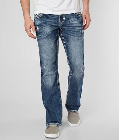 Rock Revival Baldwen Slim Boot Stretch Jean