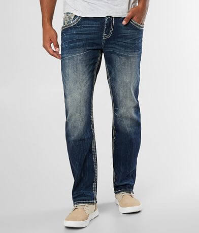 Rock Revival Albus Relaxed Taper Stretch Jean