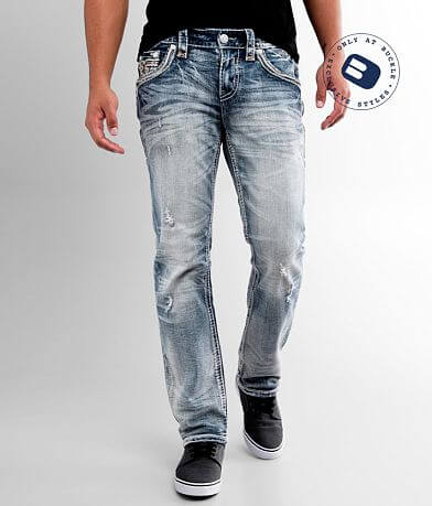 Rock Revival Bluejay Straight Stretch Jean