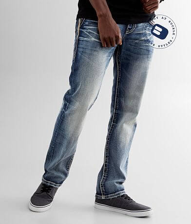 Rock Revival Jaser Straight Stretch Jean